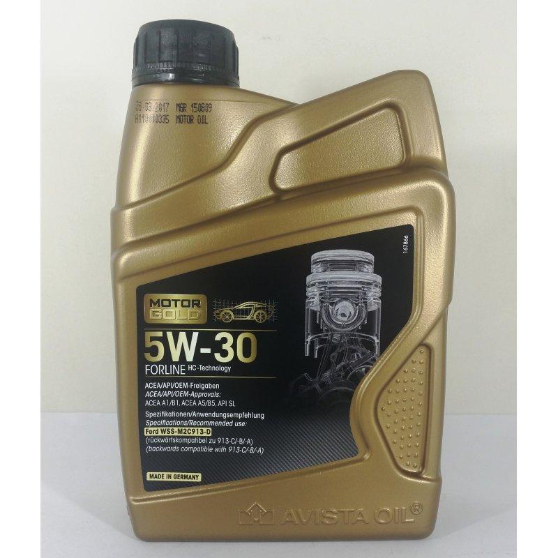 motor gold forline sae 5w 30 motor l ford renault atm fahrzeug und 5 50. Black Bedroom Furniture Sets. Home Design Ideas