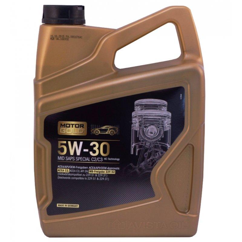 motor gold mid saps special c2 c3 sae 5w 30 atm fahrzeug und werks 21 00. Black Bedroom Furniture Sets. Home Design Ideas