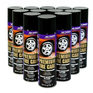 12 x 500ml No Touch Reifenschaum, Premium Tyre Care