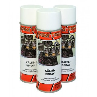 3 x 400ml Kältespray Kim Tec