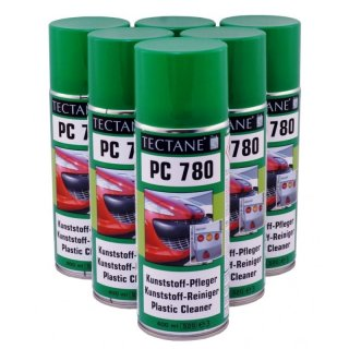 6 x 400ml Tectane Kunststoffpflege Spray PC 780