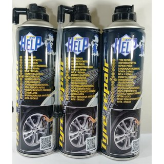 3x 500ml  Reifendicht-Spray maxi / tyre repair